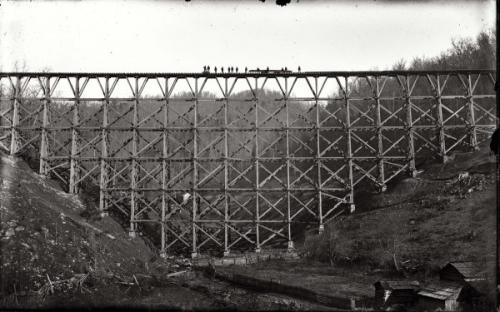 Big Lawson Trestle at Bull Run.